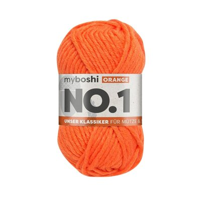MyBoshi No.1 Wolle 50g Fb.131 Orange