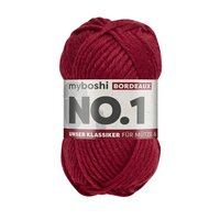 MyBoshi No.1 Wolle 50g Fb.135 Bordeaux