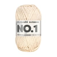 MyBoshi original No.1 Wolle 50g Fb.192 Elfenbein