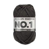 MyBoshi No.1 Wolle 50g Fb.195 Anthrazit