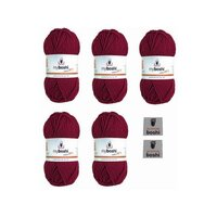 MyBoshi No.1 Bordeaux 135 Set 5 Knäuel 250g
