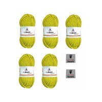 MyBoshi No.1 Avocado 115 Set 5 Knäuel 250g
