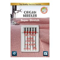 Organ HA x 1 SP Super Stretch a5 st. 075/090 Blister